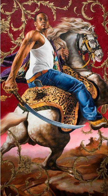 Kehinde Wiley - Contemporary Artist - Figurative & Rococo Painting - Urban Renaissance