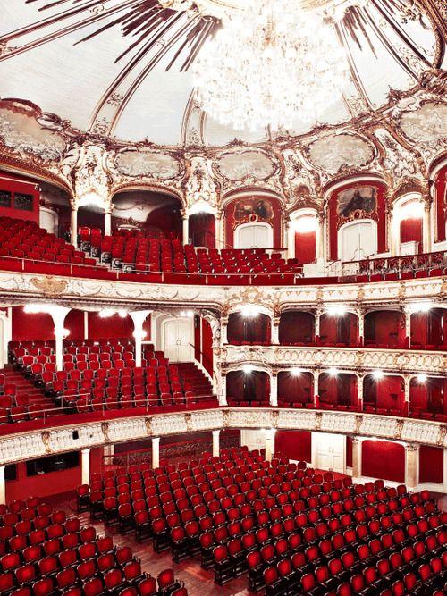 At the Graz Opera in Graz, Austria.