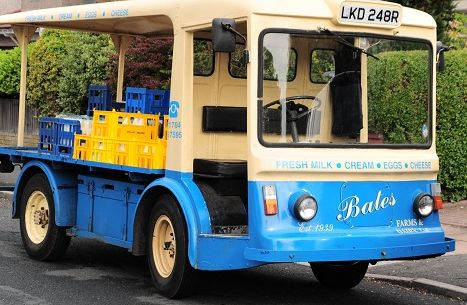 Good old fashioned Milk Float