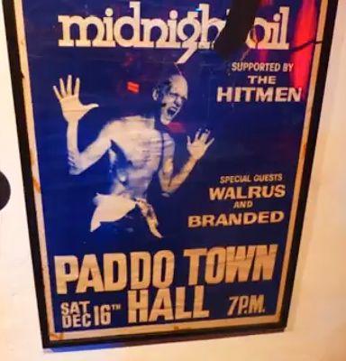 Midnight Oil: MIDNIGHT OIL - 16 Dec 1978 - Paddington Town Hall,...