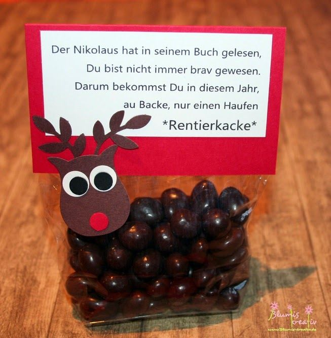 Blumis creative blog: reindeer poop Version 2014
