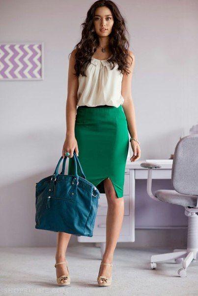 Fashion Inspiration: Весенняя зелень - Lena View