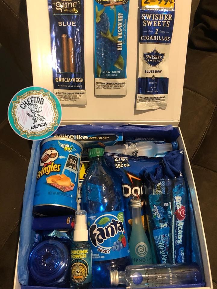 Cheftrb💙 Blunts Fathers Day Gift Basket Diy Gifts