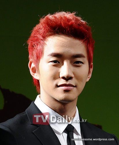 Guys With Red Hair | Korean K-Pop ^^ : Korean Fashion For Men: Red Hair Style, who tell you that you can't do it as well