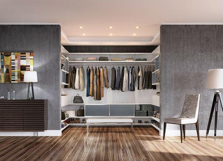 Begehbarer kleiderschrank modern  64 besten begehbare Kleiderschränke | walk in closets Bilder auf ...