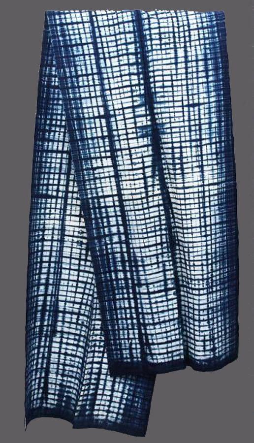 Africa | Cloth from Liberia | Cotton; indigo dye | Second half of the 20th century