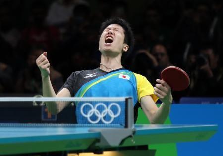 水谷隼が銅「卓球始めたときからの夢」男子初メダル