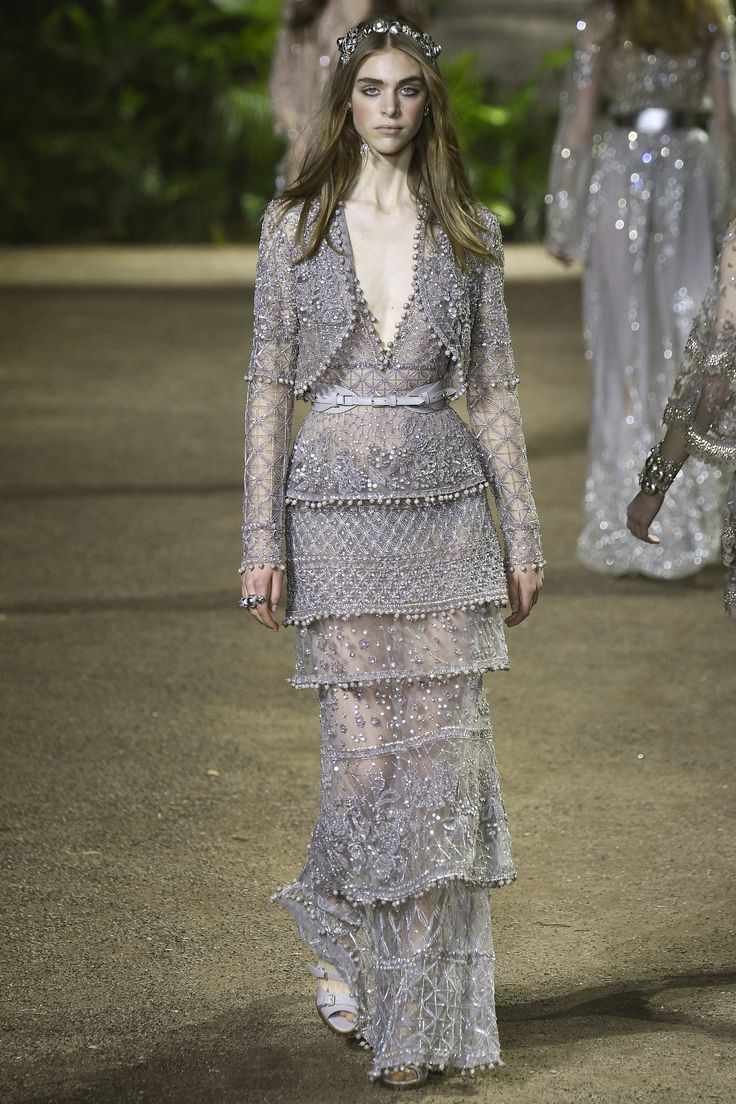 It's entirely possible to predict how an Elie Saab couture show will go down – but that doesn't mean anyone's growing out those jaw-drooping, dazzling dresses anytime soon. Perhaps that's part of t...