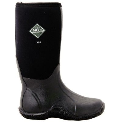 Muck Boot Tack Style, Black.