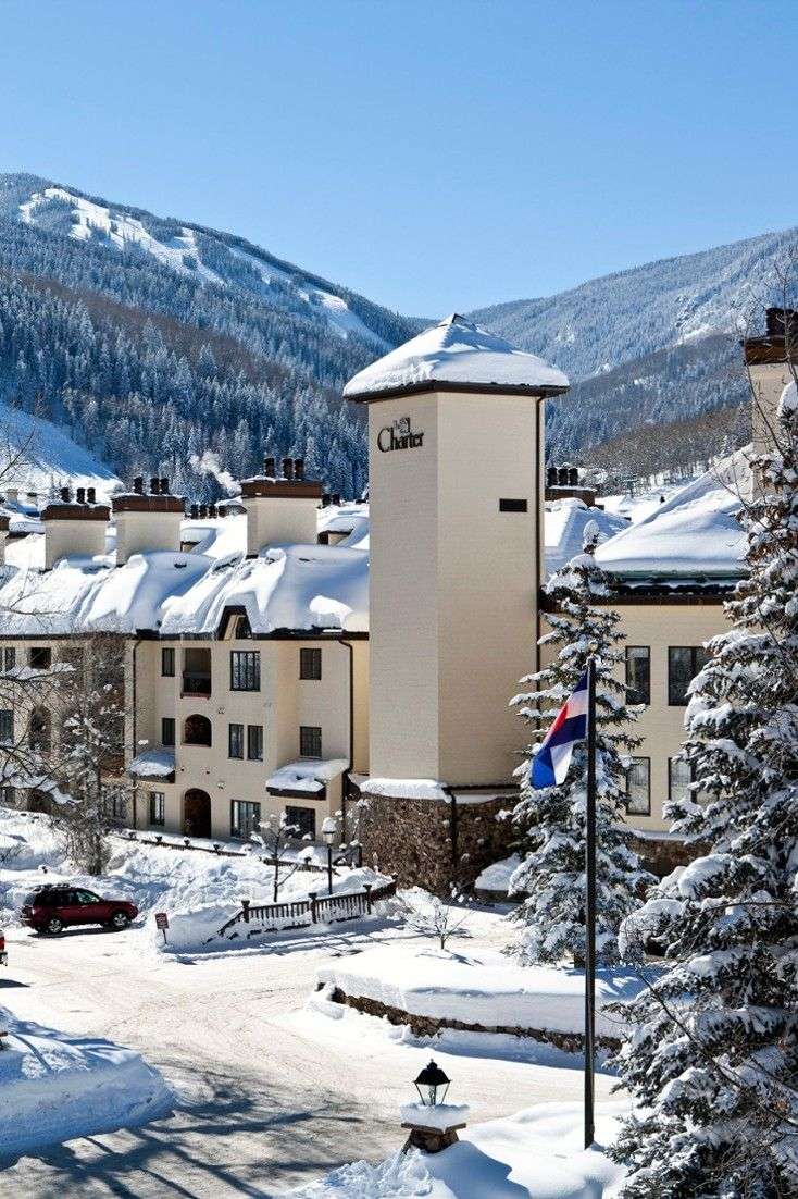 The Charter at Beaver Creek offers ski-in, ski-out access and is steps from the resort village. #Jetsetter