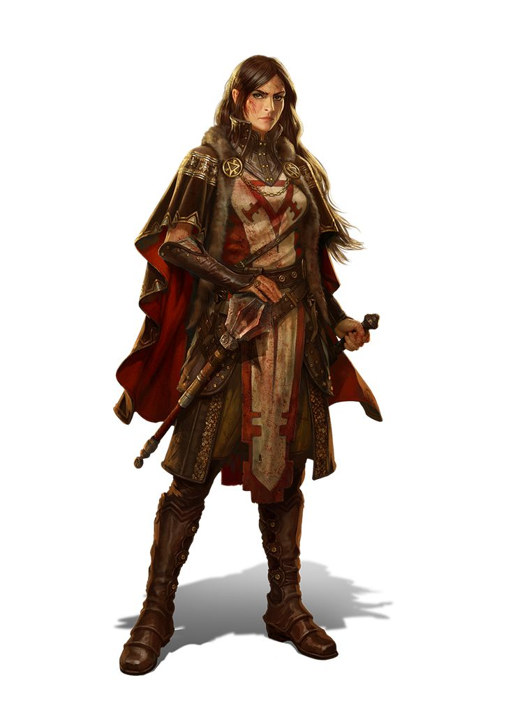 """Leyna from """"Kings of the Realm"""" by Kabam Games"""