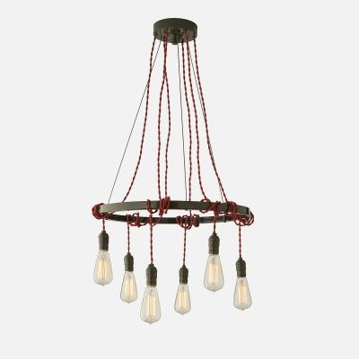 Tangled Chandelier Fixture Sergeant Green | Schoolhouse Electric & Supply Co.