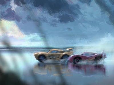 """EL ARTE DEL CINE: Arte Conceptual de Pixar´s """"Cars 3"""" (2017)"""