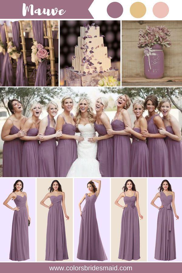Mauve Bridesmaid Dresses In 2018 One Day Pinterest Bridesmaid