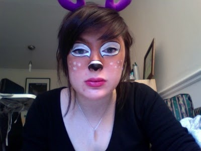face painting deer - Google Search