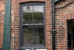 upvc sash windows grey - Google Search