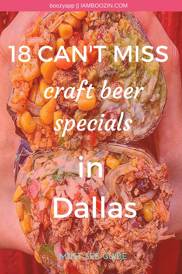 Happy Hour Dallas | 18 CAN'T MISS craft beer specials in Dallas...MUST SEE GUIDE. Click through for more!
