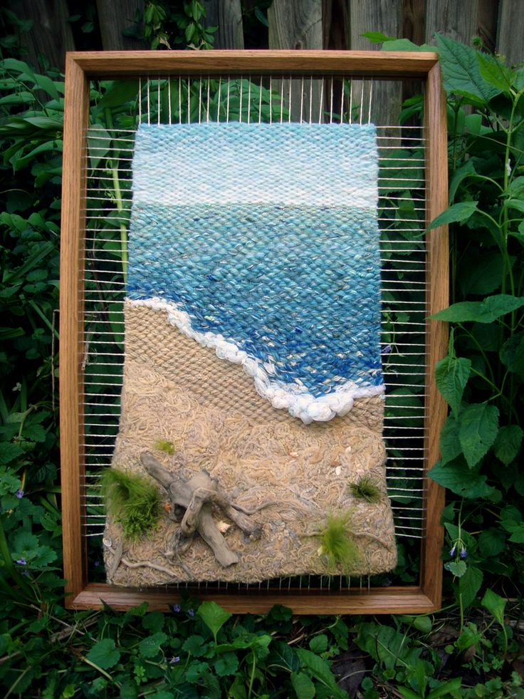 Dimensional Weaving - Martina Celerin 3D fiber art: May 2012