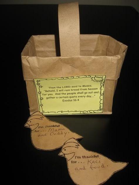 Manna Craft For Preschoolers