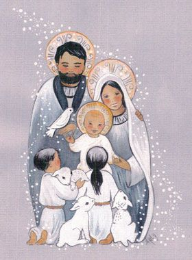 Carte de Noël - Sainte Famille de Nazareth