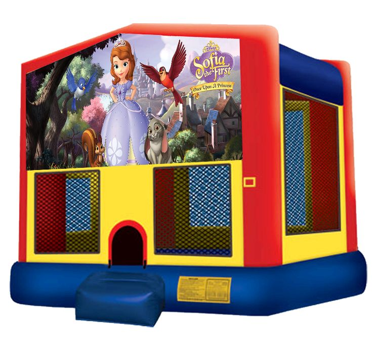 Sofia the First Bouncer for rent in Austin Texas - Austin Bounce House Rentals