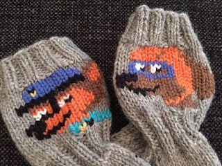 Langanluomaa: Ryhmä Hau -sukat