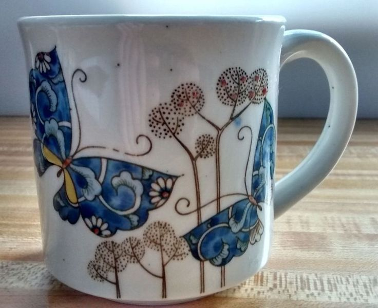 Details About Vintage 1970s Stoneware Coffee Cup Brown