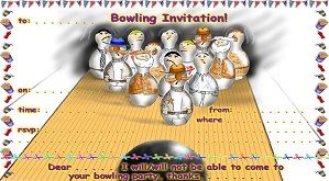 16 Bowling flyer templates free download