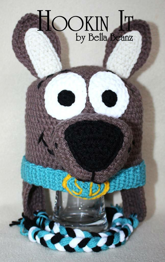 Scooby Doo Inspired Crocheted Hat