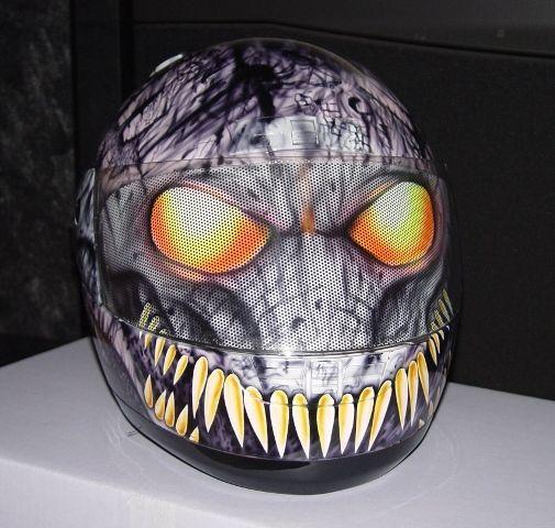 Custom Painted Ruroc Helmets