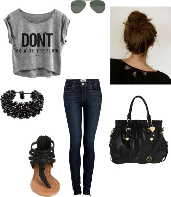 24 Great Back to School Outfit Ideas....probs gonna do something similar to one of these.