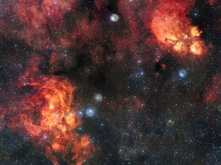 ¿Conoces las nebulosas de Pata de Gato y la de la Langosta? Hoy nos acercamos a ellas y desvelamos algunas de sus particularidades en alta definición.