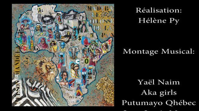NELSON MANDELA HOMMAGE VIDEO Tribulation d'une toile mais un hommage quand même pour un homme qui le vaut bien !