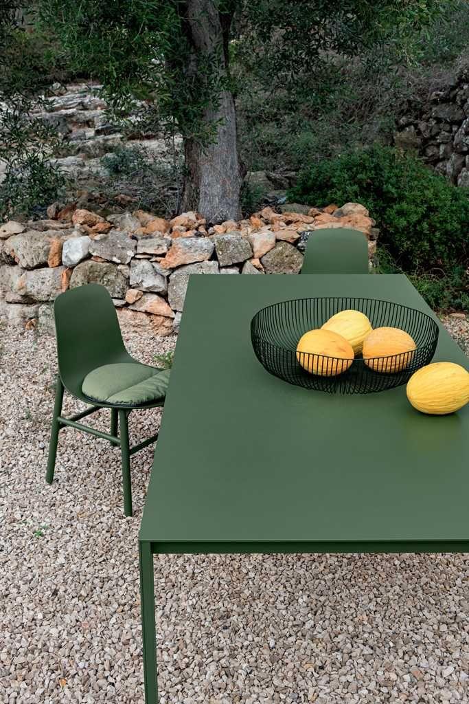Kristalia Thin K Aluminium Outdoor Tisch Ausziehbar In 2020