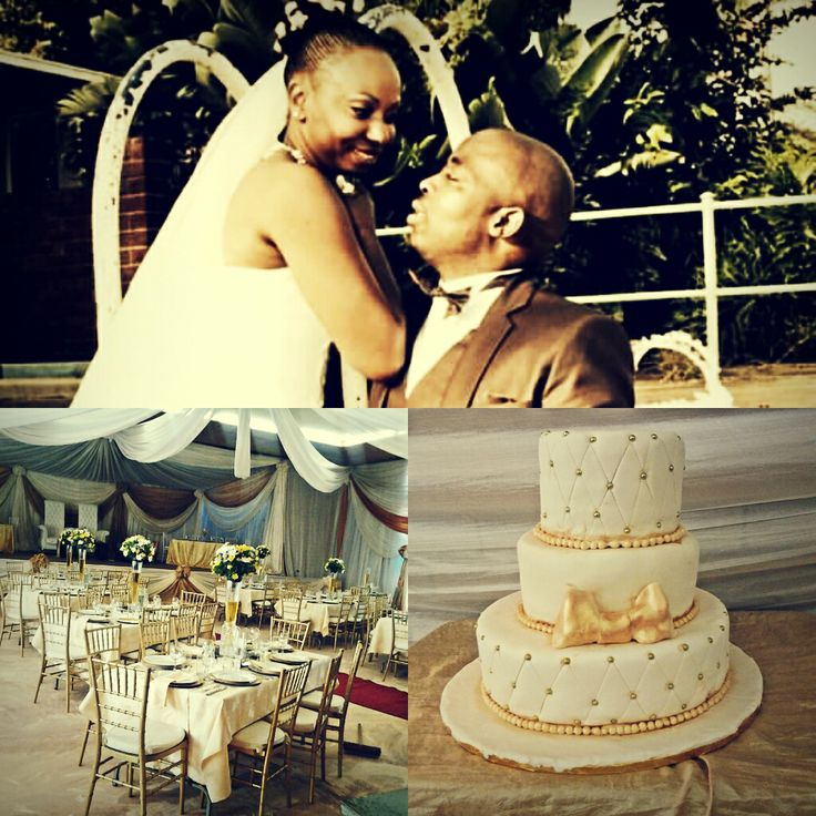 ivory and gold theme wedding