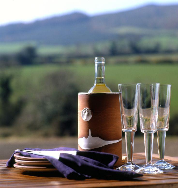 Wine cooler. Stephen Pearce Pottery, Shanagarry, Cork, Ireland.