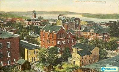 Bird's eye view, Owensboro, KYFavorite Places, Kentucky Real, Birds Eye View, Real Estate, Owensboro Ky, Kentucky History