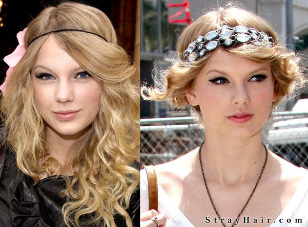 taylor swift hippie headband hairstyles