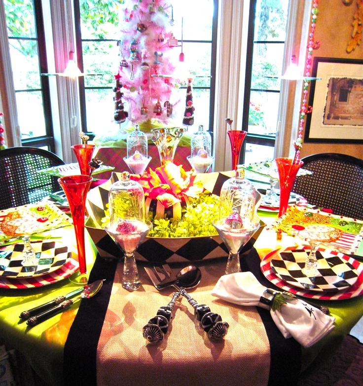 harliquin xmasHoliday Ideas, Harliquin Tablescapes, Christmas Holiday, Christmas Decor, Harlequin Christmas, Christmas Ideas, 1Christma Decor, Harliquin Xmas, Christmas Tablescapes