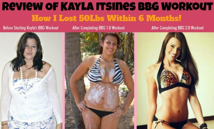 Kayla Itsines Review: I LOST 50Lbs With Bikini Body Guide Workout!