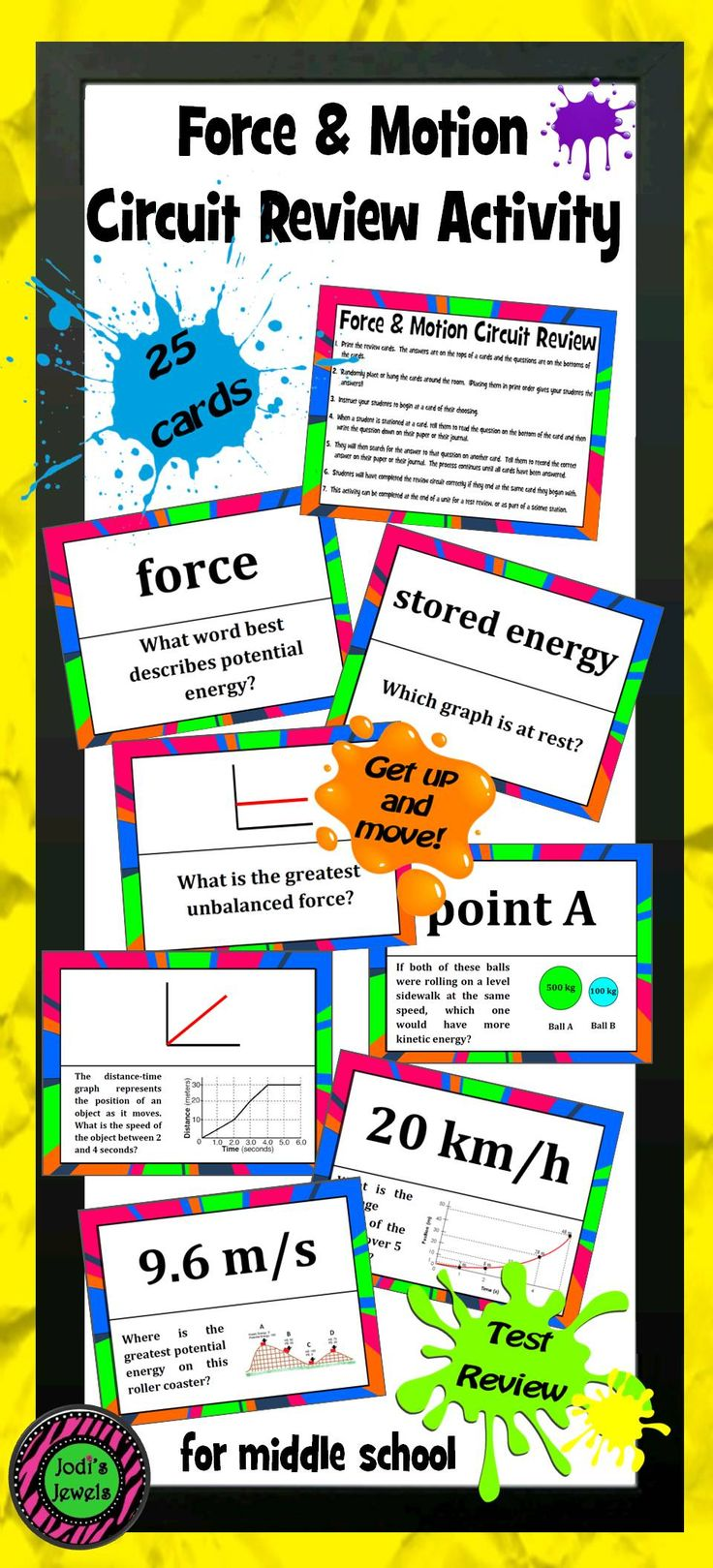 Force & Motion Circuit Review Activity Basic physics