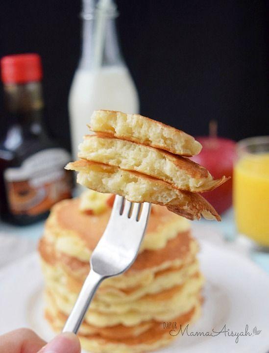 Dapur Mama Aisyah: Fluffy Pancakes|Resep & Tips Membuat Pancake Sederhana tapi Tebal dan Empuk Menul-menul ;)