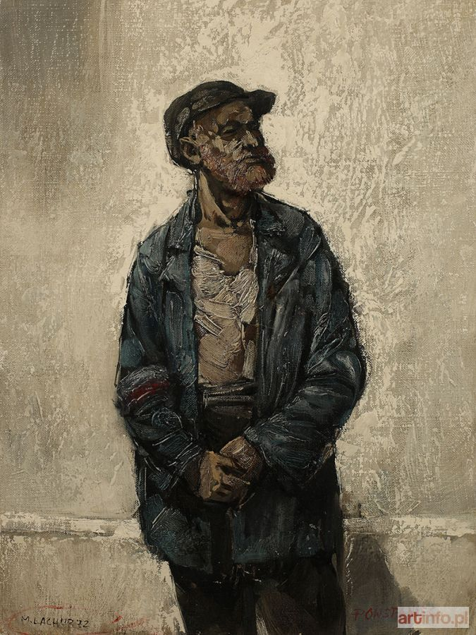 Maciej LACHUR ● Powstaniec, 1972 r. ● Aukcja ● Artinfo.pl