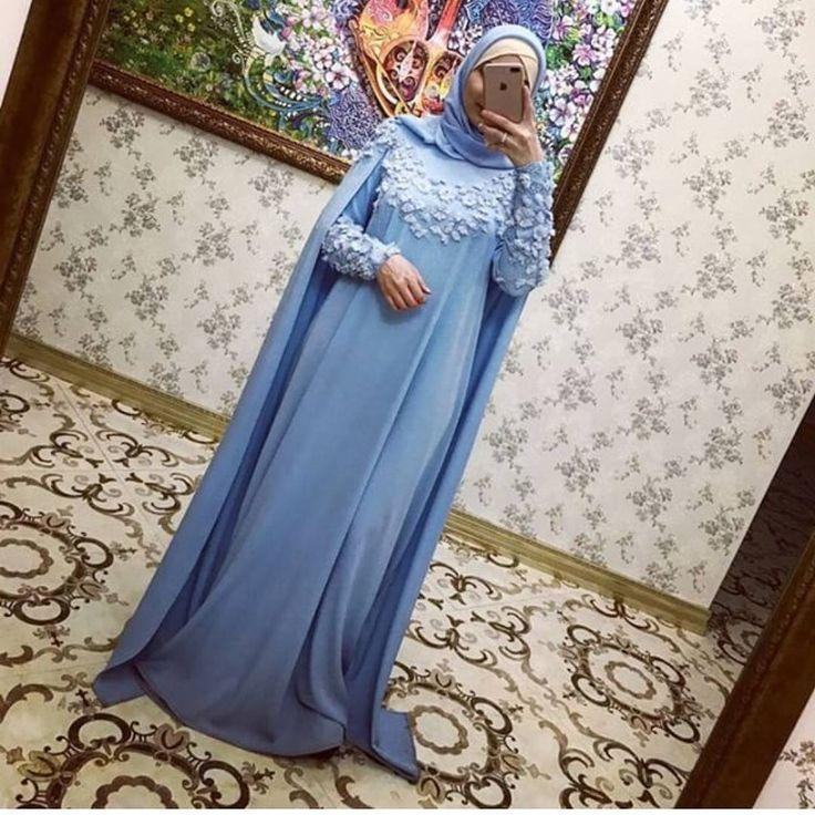 """303 Likes, 7 Comments - одежда для мусульманок (@asma__dress) on Instagram: """"И вот такой нежно-розовый кейп.прекрасный выбор на сватовство ,для никяха и на второй день.10000"""""""