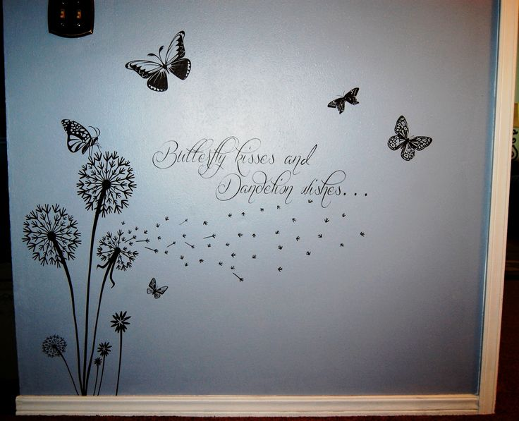 Butterfly Kisses and Dandelion Wishes