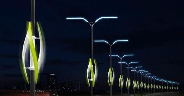 Eco shocker: Turbine Mild idea makes use of wind to mild highways