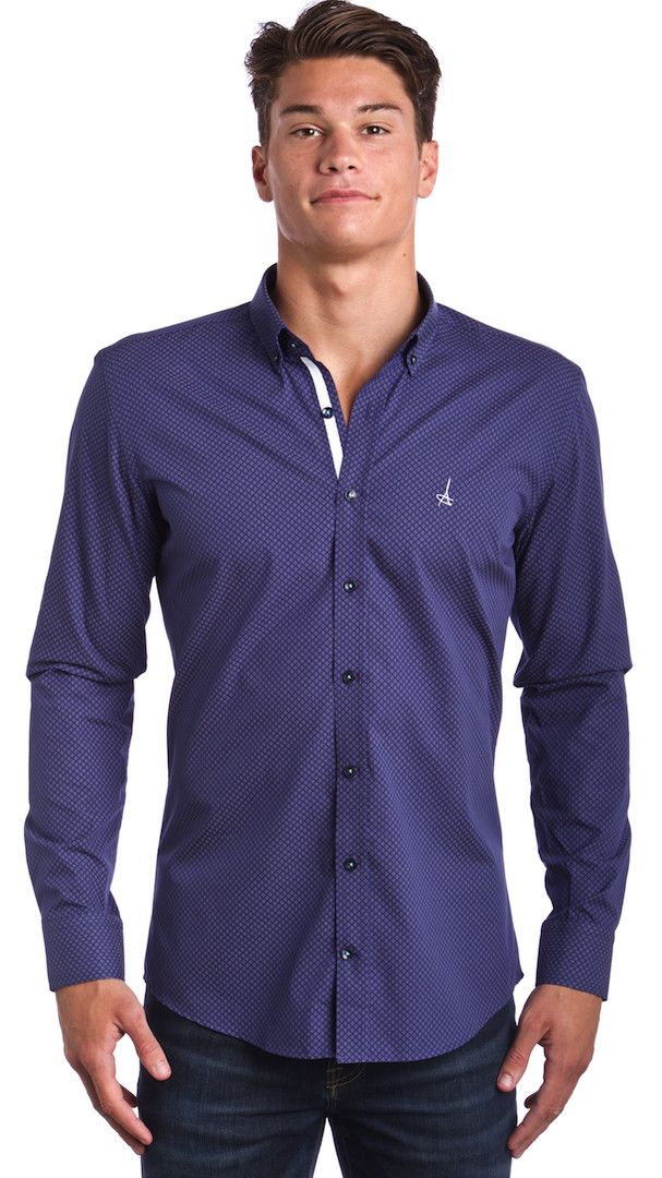 Andriali Golden Touch Slim Fit Dress Shirt