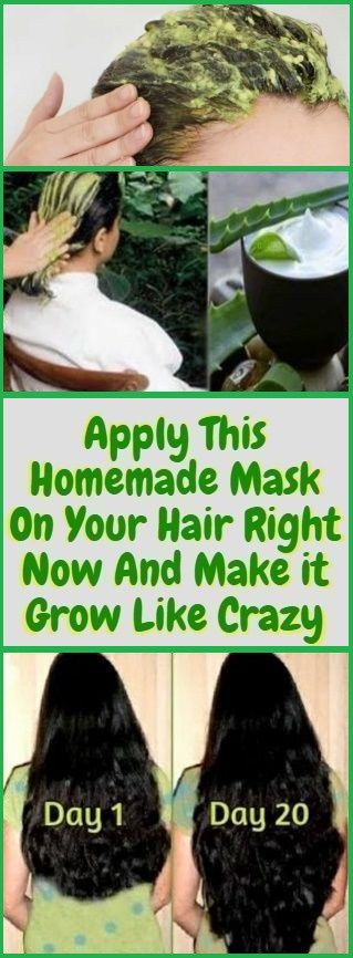 Apply This Homemade Natural Mask On Your Hair, Right Now And Make it Grow Like Crazy