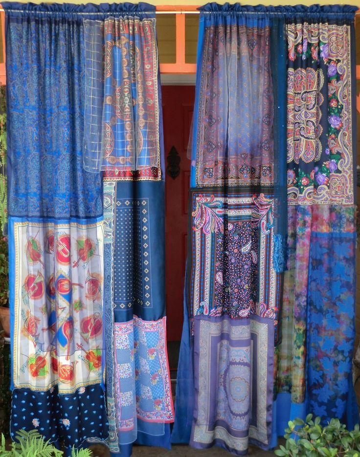 Handmade Gypsy Curtains.