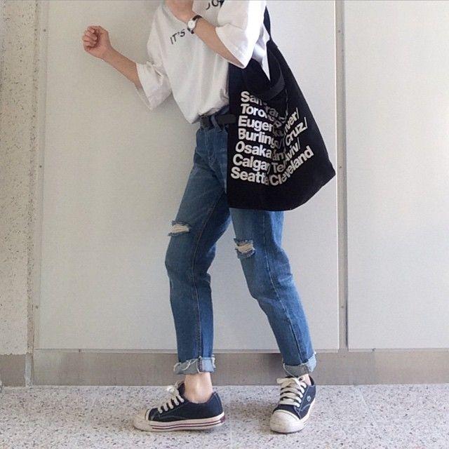 Ucc44ub9bcuc4f0 u0e1au0e19 Instagram u201cuc5c4ub9c8ubc14uc9c0 uc774ubed0uc11c ubab0ub798 uc785uace0 ub098uac08ub824uad6c u201d | u00a4Korean Fashionu00a4 | Pinterest | Ulzzang fashion ...